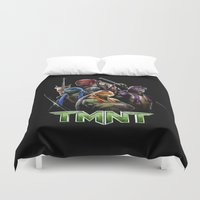 ninja turtle Duvet Covers featuring Ninja Turtle best for birthday and Christmas gift by customgift