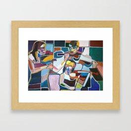 Series of Musicians nº9 Framed Art Print