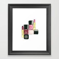 Beauty Shot Framed Art Print