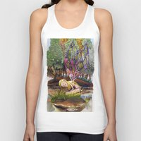 fairy Tank Tops featuring Fairy by Jose Luis Ocana
