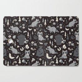 Trashy Raccoons Cutting Board