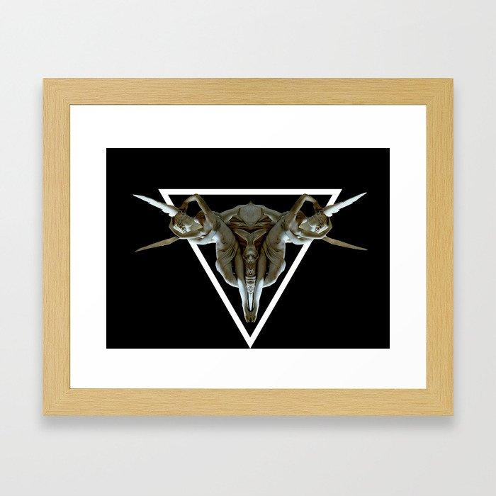 Amore&Psyche SkulBull Framed Art Print