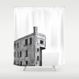 CANADIAN NATIONAL CONTROL STATION Shower Curtain