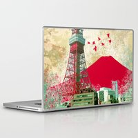 tokyo Laptop & iPad Skins featuring Tokyo by Kimball Gray