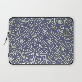 Tipping Point- Purple Laptop Sleeve
