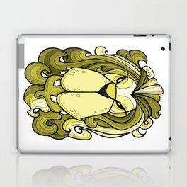 Lion - Meadowlark yellow Laptop & iPad Skin