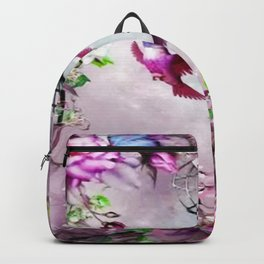 Colourful hummingbird style Gift Backpack