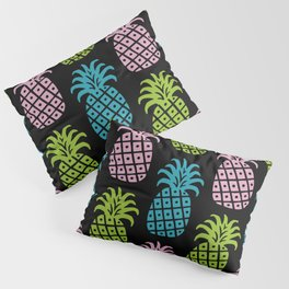 Retro Mid Century Modern Pineapple Pattern 86 Pillow Sham