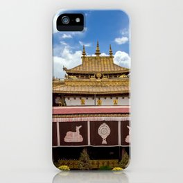 The Jokhang Temple in Lhasa, Tibet iPhone Case