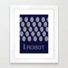 I,Robot Framed Art Print