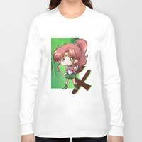 sailor jupiter Long Sleeve T-shirts featuring Jupiter by Lady Cibia