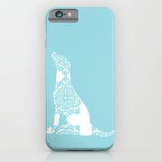 Blue Damask Labrador Retriever Dog iPhone 6s Slim Case