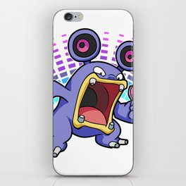 Extra Loudred iPhone Skin