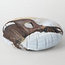 Old Forgotten Friend Floor Pillow