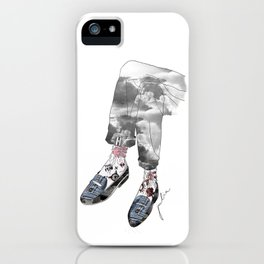 Shoesed coolness iPhone Case