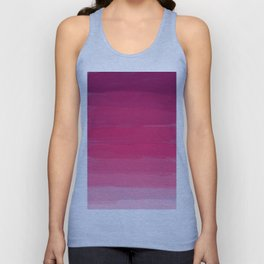 Lipstick: Shades of Pink Gradient Color Study Unisex Tank Top