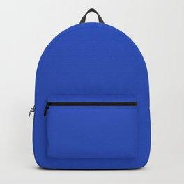 Cerulean Blue - solid color Backpack