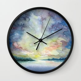 As the sun sets Wall Clock