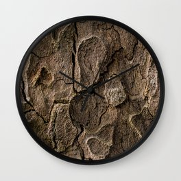 Bark 2 Wall Clock