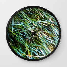So much Green Wall Clock