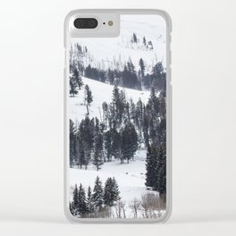 Specimen Ridge - Yellowstone National Park Clear iPhone Case