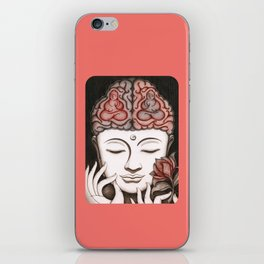 How meditation changes your brain... and makes you wiser? iPhone Skin