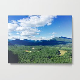 North Conway Mountains Metal Print