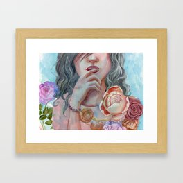 In this moment Framed Art Print