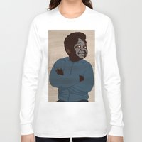 arnold Long Sleeve T-shirts featuring Arnold by alkoipa