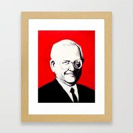 Dave Thomas, Founder of Wendy's Framed Art Print