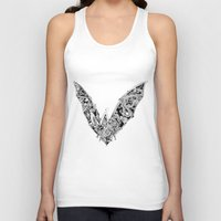 bat Tank Tops featuring Bat by Gwyn Hockridge