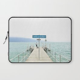 Embarcadère du Léman - Leman Jetty Laptop Sleeve