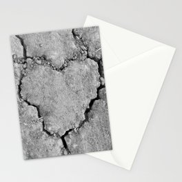 Ground Heart Stationery Cards