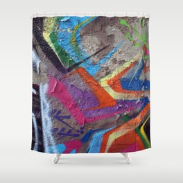 Color Entropy II Shower Curtain