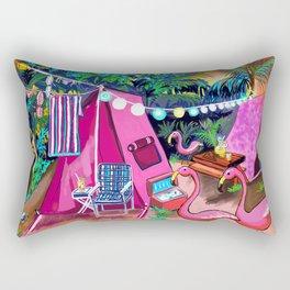 Camp PINK Rectangular Pillow
