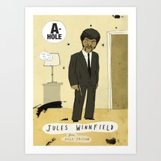 Jules Winnfield Art Print