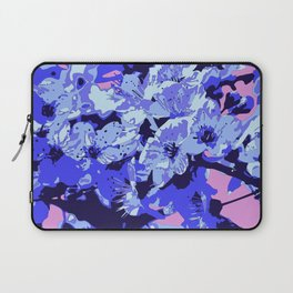 Almond blossom pop-art Laptop Sleeve