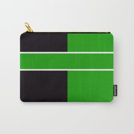Team Color 6...Green,black Carry-All Pouch