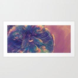 Der The Cat Art Print