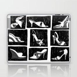 BLACK & WHITE SHOES Laptop & iPad Skin