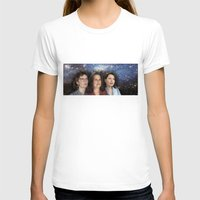 yankees T-shirts featuring THE THREE GREAT LADIES by Kaitlin Smith