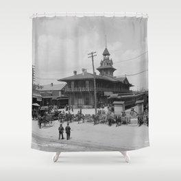 Pensacola, Florida 1900 Shower Curtain