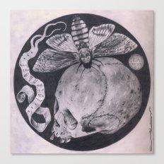 Totenkopf Canvas Print