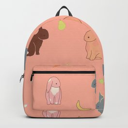 bunny rabbit banana fruit Backpack