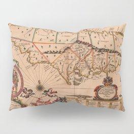 Map Of Jamaica 1671 Pillow Sham
