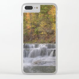 Lower Taughannock Falls 2 Clear iPhone Case