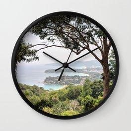 Karon Lookout, Phuket, Thailand Wall Clock