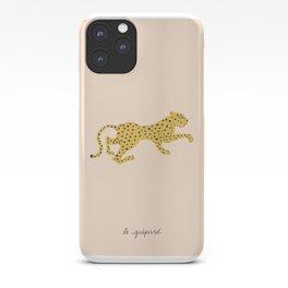 le guépard iPhone Case