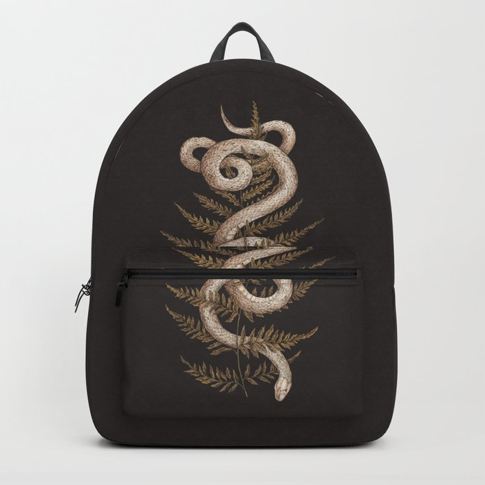 The Snake and Fern Rucksack