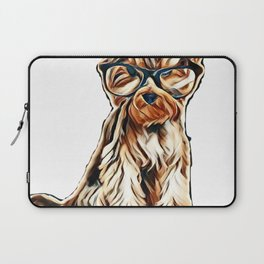 dog money payment adorable Laptop Sleeve